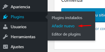 Añadir nurvo plugin wordpress