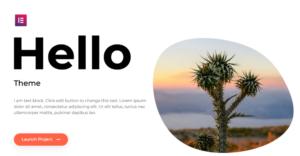Instalación de Hello Theme