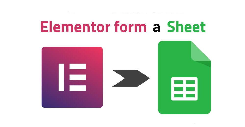 formulario elementor a google sheets